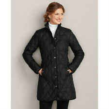 Womens Eddie Bauer Year Round Car Coat,  Regular, Tall -  Black -  Red  NEW