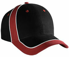 Piping Design Brushed Cotton Twill Low Profile Pro Style Cap 19-477