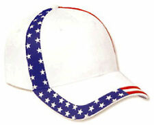United States Flag Design Cotton Twill Low Profile Pro Style Cap 80-585