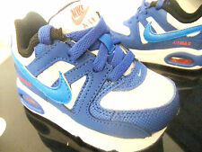 TODDLER INFANT BABY BOYS NIKE AIR MAX COMMAND TD TRAINERS UK SIZE  9.5   ( 118 )