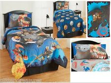 KIDS BOYS HOW TO TRAIN YOUR DRAGON 2 BEDDING BED IN A BAG / COMFORTER SET