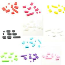 Rubber Silicone Gel Anti-Dust Port Plug Cover Stopper Set for MacBook Pro 13 15