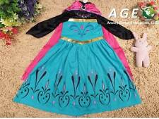Girls DISNEY Frozen Snow Queen Elsa Coronation Dress/Halloween Costume Size 2T-6