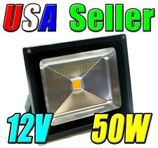 12V Low Voltage 50W Cool Pure White LED Wash Flood Light Garden Outdoor