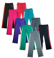 Adidas Youth Girls Striped Athletic Yoga Pants Pant, Multiple Colors
