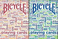 CARTE DA GIOCO BICYCLE TABLE TALK,poker size