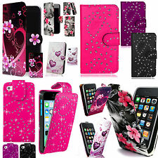 Patterned PU Leather Case Cover Wallet Flip for Samsung Galaxy S3 mini i8190