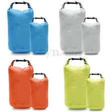 Small Ultralight Waterproof Storage Dry Bag for Boating Camping 4 Colors 2L 5L