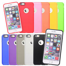 Silicone Protective Cover Case for iPhone 6,6S, 6 Plus,6S Plus +Screen Protector