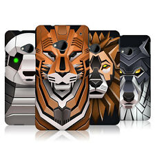 HEAD CASE DESIGNS ROBOTIC ANIMALS CASE COVER FOR HTC ONE