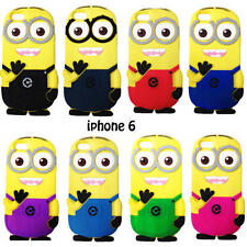 Soft Silicone back case for Apple iPhone 6 Plus 5.5 inch Despicable Me Two Eyes