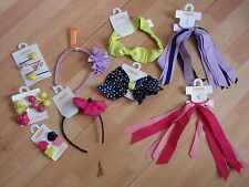 NWT GIRLS GYMBOREE HAIR CLIPS, HEADBAND, PONYTAIL HOLDER BRIGHT IDEAS U PICK