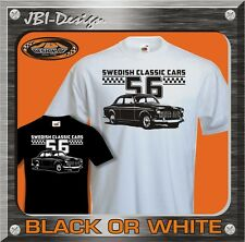 T-Shirt Classic Racing Car 1.6 1.8 2.0 Canadian GT Amazon P 120 Saab Volvo etc