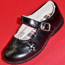 Girl's Toddler FRENCH TOAST ALLISON Black Flower Mary Jane Casual/Dress Shoes
