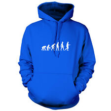 Evolution Of Man Egg and Spoon - Unisex Hoodie / Hooded Top - Sports Day