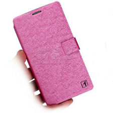 4 colors Leather Folio Wallet Flip Case Cover For Huawei Ascend Mate 7 a