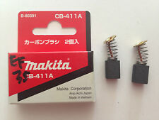 MAKITA GENUINE CARBON BRUSH CB-411 SUIT MT954/MT963/DS4011/JN1601/9031/KP0800XK
