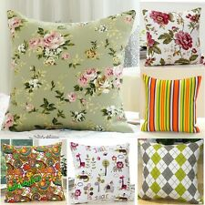 Fashion Square Pillowcases Bed Sofa Throw Pillow Cases Car Back Cushion Cover