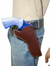 "NEW Barsony Burgundy Leather Cross Draw Gun Holster for Ruger 6"" Revolvers"