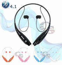 Wireless Bluetooth Sport Stereo Headset headphone works with Samsung iPhone LG