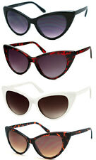 2 Pairs New Womens Cat Eye Retro 50s 60s Style Rockabilly Sunglasses Eye Glasses