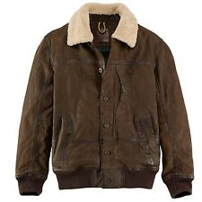 Timberland Men's Earthkeepers Tenon Workwear Leather Bomber Jacket Style #545