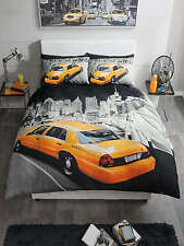 Yellow Taxi Cab Duvet Cover Quilt Cover Bedding Set With Pillow Cases