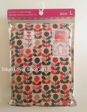 UNIQLO Orla Kiely Heattech Turtle Neck Red Long Sleeve T-shirt from Japan New