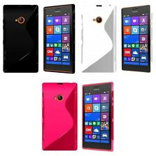 NOKIA LUMIA 720 S-LINE SILICONE GEL COVER CASE FREE SCREEN PROTECTOR