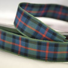 Berisfords Flower Of Scotland Woven Tartan Ribbon 7mm - 70mm
