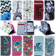 Wallet Case Cover For Samsung Galaxy S3 S4 S5 mini Note3 S7562 i8262 i9190 i8190
