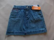 NWT Girl's Gymboree Bright & Beachy blue adjustable jean skirt ~ 5 6 7 10