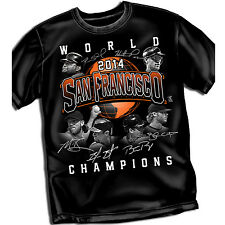San Francisco 2014 world Champ Shirts  MLB702  MLBPA Approved