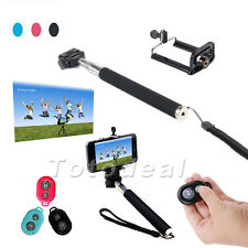 Extendable Monopod Mount Bluetooth3.0 Wireless Remote Self-timer for SmartPhone