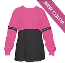 Boxercraft POM POM Pullover LADIES Fuschia & Charcoal Color Block Spirit Jersey