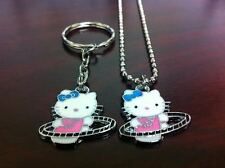 Hello Kitty Hula Hoop Necklace or Keychain FAST ***SHIPPING*** ***USA SELLER***