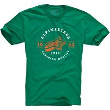 Alpinestars Men's Short Sleeve T-Shirt Magnitude Tee Green
