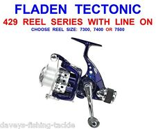 FLADEN TECTONIC REEL FOR SEA MATCH FEEDER FLOAT AVON QUIVER FISHING SPINNING ROD