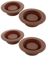 Silicone Brownie Bowls Chicago Metallic, Dessert Cups Mini Cake...