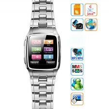 """1.6"""" TFT Touch Screen Watch Cell Phone with Camera JAVA Unlocked TW810"""