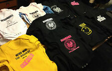 BABY VEST BODYSUIT 0-36m ramones descendents punk rock roll bike tattoo music