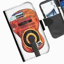 Oasis Band  Leather wallet personalised phone case for Samsung Galaxy phones
