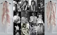 Keith Richards Style Scarves - Iconic Keef Rolling Stones Scarf