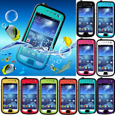 New Shockproof Waterproof Dirt Snowproof Case Cover for Samsung Galaxy S4 mini