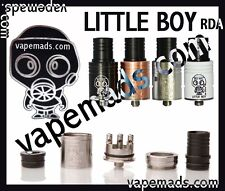 Little Boy IMPROVED RDA RBA IN 4 COLORS! IN STOCK HIGH QUALITY~USA SELLER!