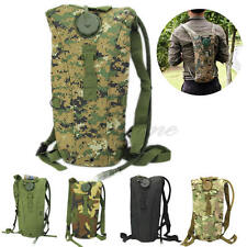Hydration System Pouch Backpack Bladder Hiking Climbing Survival 3L Water Bag