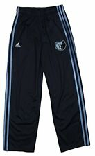 Adidas NBA Youth Boy's Memphis Grizzlies 3-Stripe Athletic Track Pants, Navy