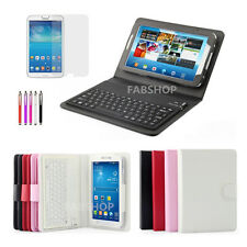 WIRELESS BLUETOOTH KEYBOARD CASE STAND FOR SAMSUNG GALAXY TAB 3/4 TAB S TAB PRO