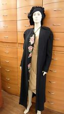 NWT HANDMADE IN EUROPE ORGANIC WOOL KNIT LONG COAT  10 12 14 16