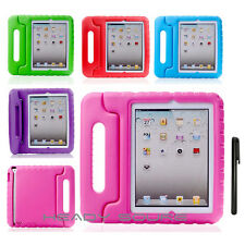 Kids Child EVA Shock Proof Thick Foam Handle Stand Case Cover for iPad & Samsung
